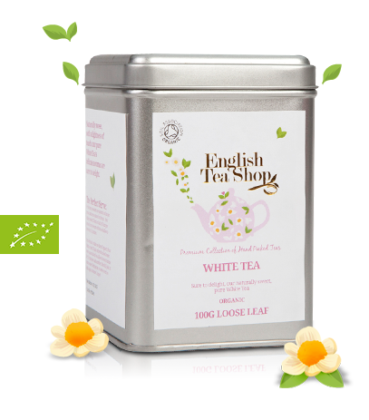 Organic White loose leaf tea 100g