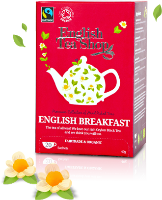English Tea Shop English Breakfast Mahe Must tee 20bagsx6