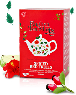Organic Spiced Red Fruits Tea 20 sachets