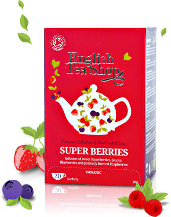 EnglishTeaShop Organic Superberries Tea 20bags