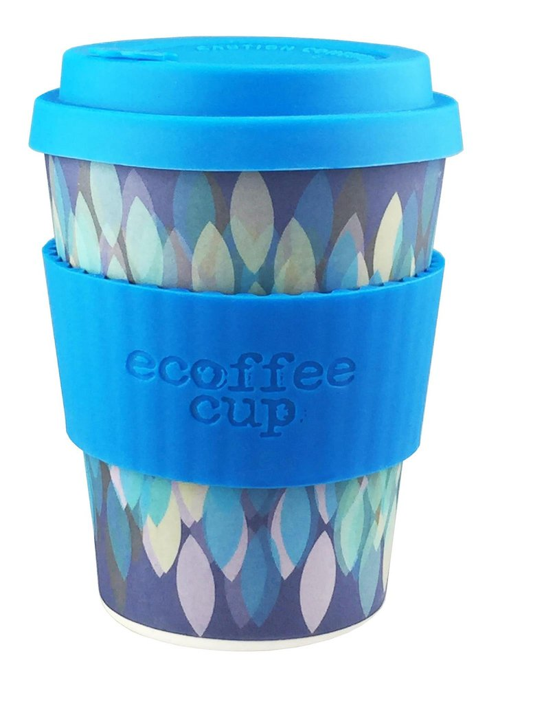 Ecoffee cup 355ml Sakura Blue