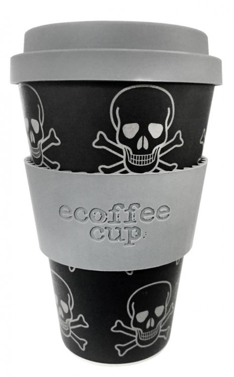 Ecoffee cup 400ml Skullduggery