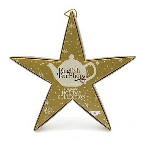 Mahe Jõulutee Kulnde Täht Star Gift pack 6pc Golden