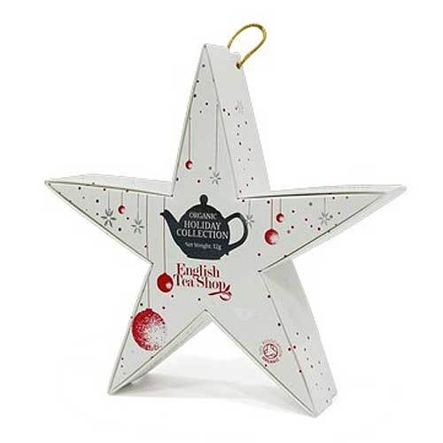 Mahe Jõulutee Gift pack 6pc Star Silver Red