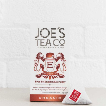 Joes Tea Company Organic Ever-So-English Breakfast 3.5g x15