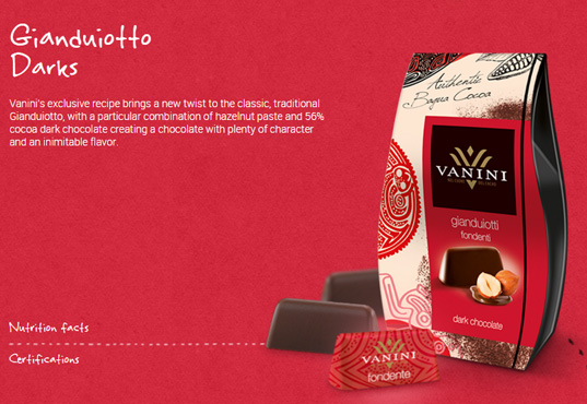 Gianduiotti dark receipe case 120g