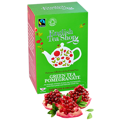 ETS Green Tea Pomegranate 20 Sachets