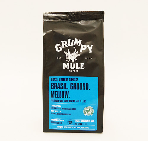 Organic Coffee Ground Brasil Grumpy Mule 227g