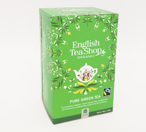 Mahe Roheline Tee 20pakk English Tea Shop
