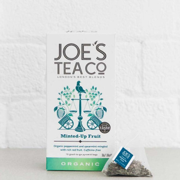 Joes Tea Company Organic Minted-Up Fruit MINTFRUIT 2g x15