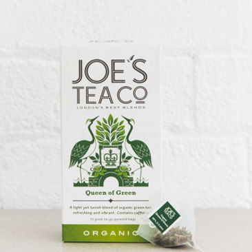 Joes Tea Company Organic Queen of Green GREEN 2g x15