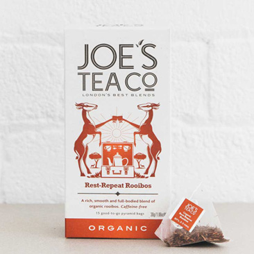 Joes Tea Company Organic Rest-Repeat Rooibos 2g x15