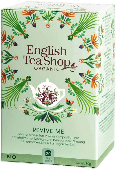 ETS Wellness Organic tea Revive me 20pk 30g