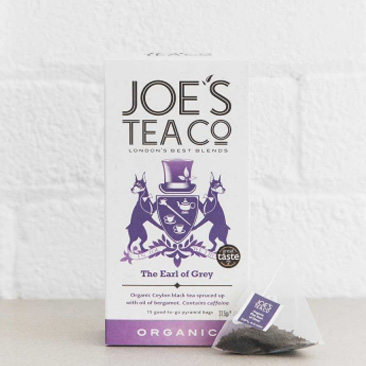 Joes Tea Company Organic The Earl of Grey 2.5g x15