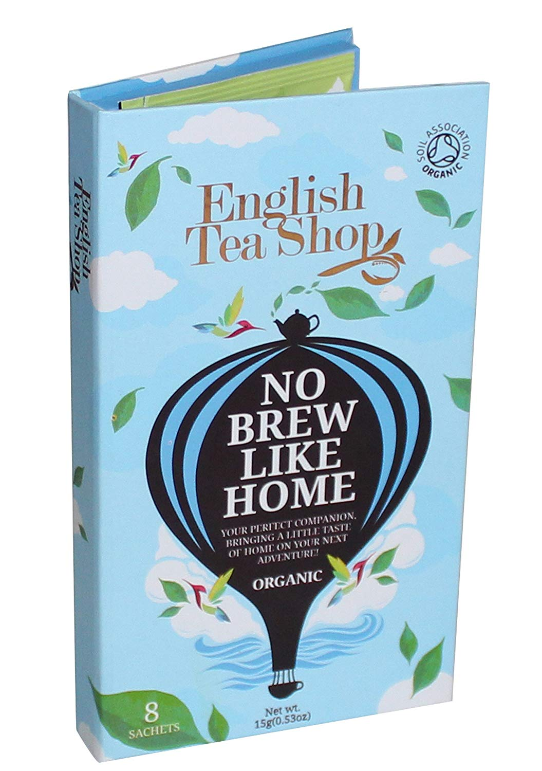 English Tea Shop Sachets Blue Traveller Pack 8ct
