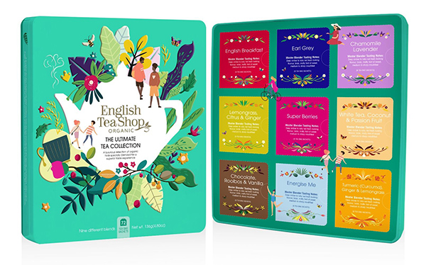 The Ultimate Tea Collection Gift Tin 72