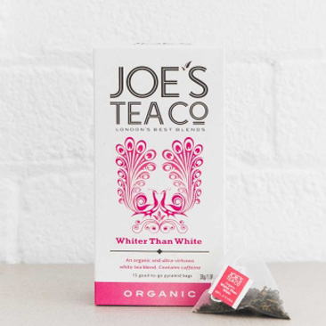 Joes Tea Company Organic Whiter Than White 2g x15