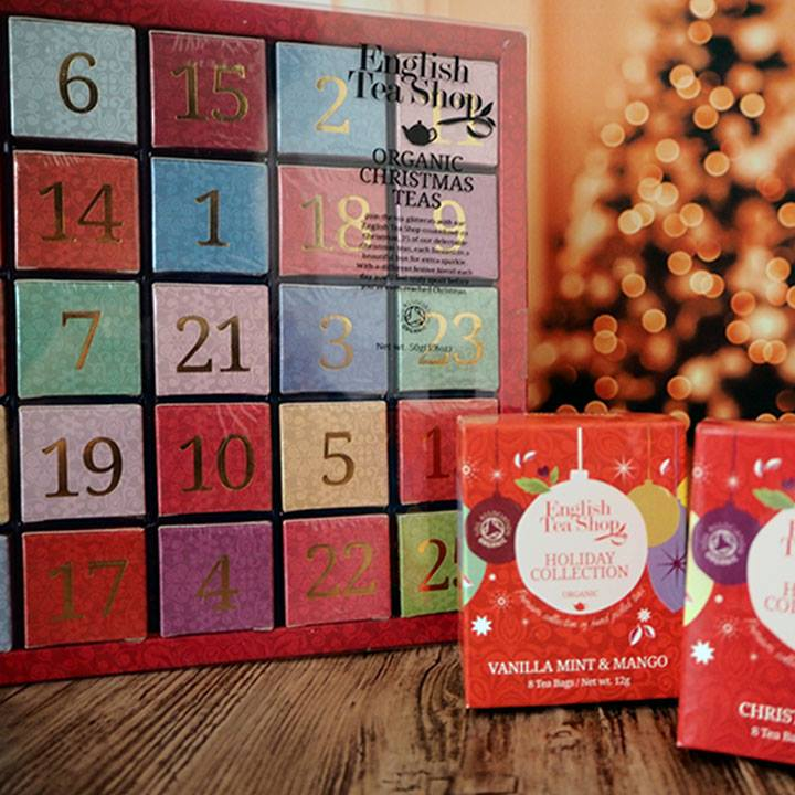 Advent calendar with org teas 25ct 13 different Numeric