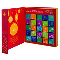Organic book Red Advent Calendar 25