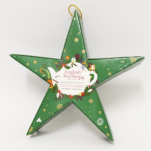 Mahe Jõulutee Gift pack 6pc Green Star