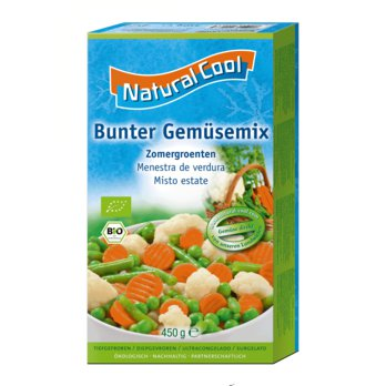 Organic vegetable mix 450g frozen Demeter