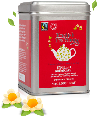 Fairtrade & Organic ENGLISH BREAKFAST Loose 100g