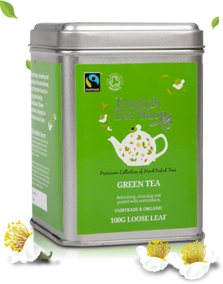 Fairtrade & Organic Green Loose Tea 100g
