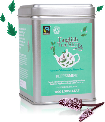 Fairtrade & Organic Pepermint loose 100g