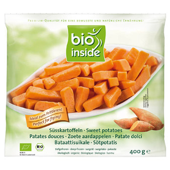 Organic Sweekt potato Bataat 400g frozen