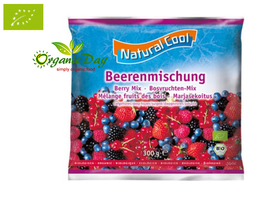 Organic berry mix 300g frozen