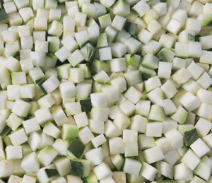 Organic Courgette (diced) 250g frozen