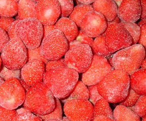 Organic Strawberries frozen 500g
