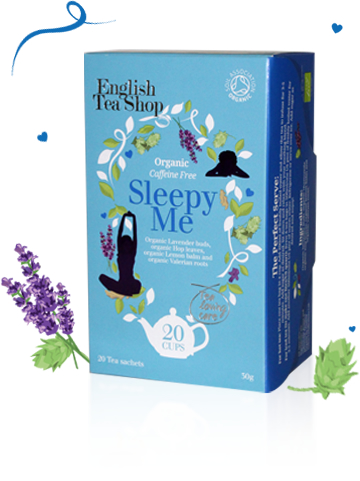 Organic Sleepy Me 20 sachets 30g, Wellness Spa Tea Range