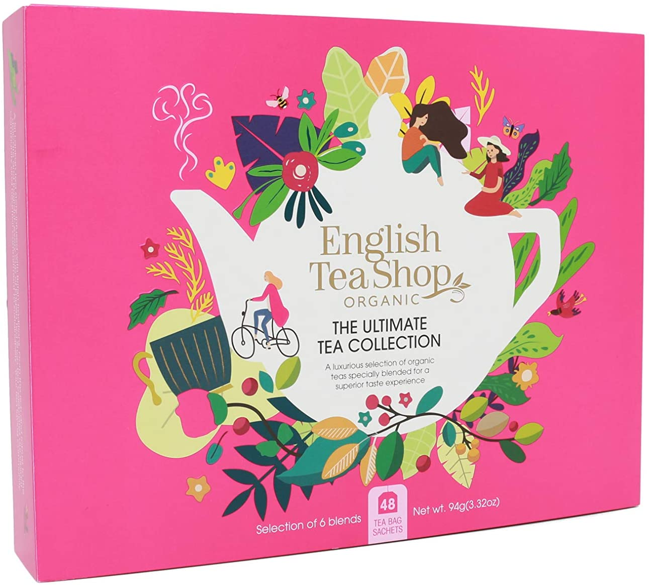 Organic Tea Ultimate Collection 48pk