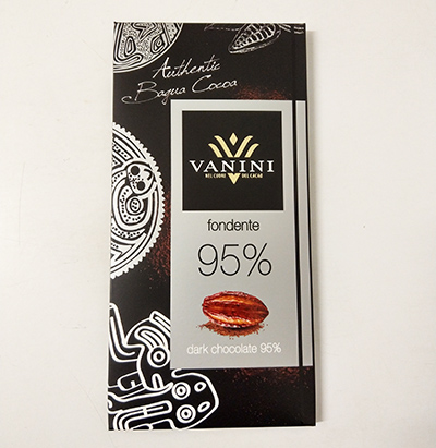 Dark chocolate bars cocoa 95%-100 g