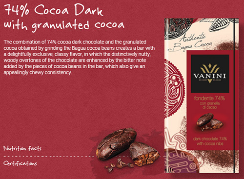 Milk chocolate bars cocoa 49% with orange peel 100g