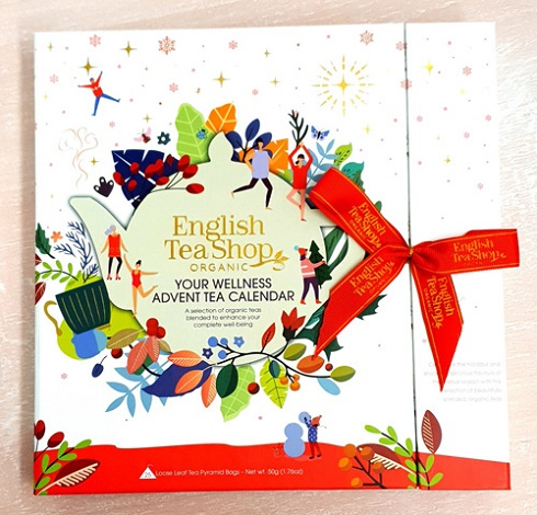 UUS Book Style Christmas Wellness Advent Calendar 25ct