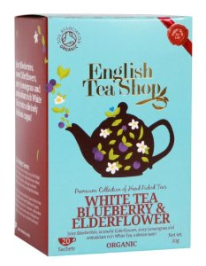 SuperTee Mahe White Tea Blueberry and Elderflower (Kofeiinivaba) 20tk