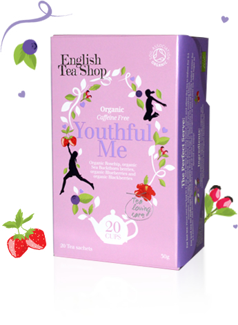 Wellness & Spa Mahe Tee Youthful Me Nooruse tee (kofeiinivaba) 20tk, 30g