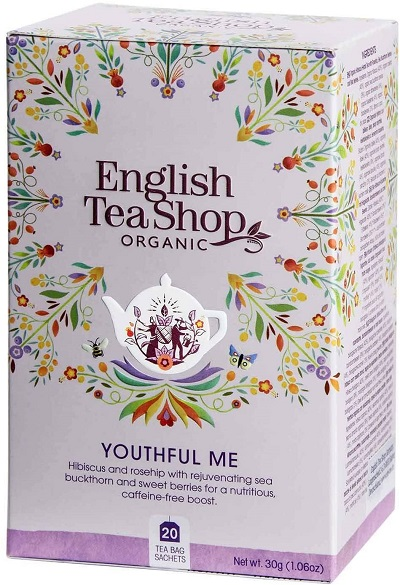 Wellness & Spa Organic Tea Youthful Me (Cofeine free) 20 sachets 30g